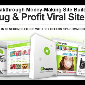 Start Earning With All In One MULTI AFFILIATE PROFIT Website in 3 Clicks BuzPress Reviews