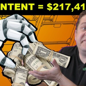 Automated 'AI' Content Test ($217,418 Earned?) Learn The Truth!
