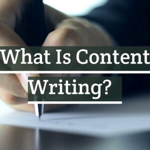 What is Content Writing