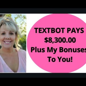 $8,300.00 WITH TEXTBOT. AVA IS YOUR AUTOMATED VIRTUAL ASSISTANT. AVA BASIC AND AVA PLUS.