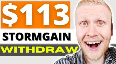 How to WITHDRAW MONEY FROM STORMGAIN Mining (Stormgain Withdrawal 2021)