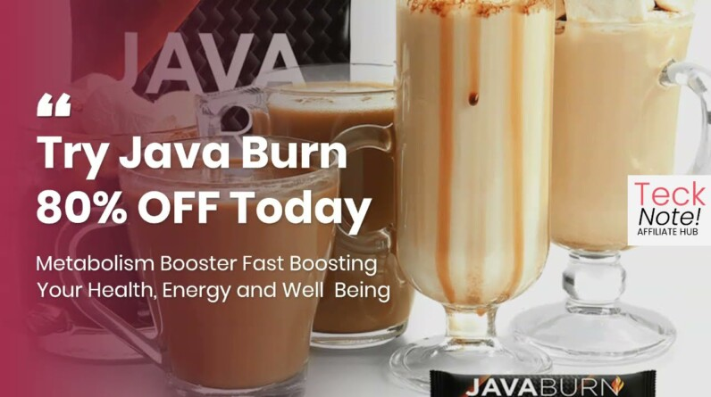 Best Metabolism Booster 2021 Weight Loss, Health, Energy (TRY JAVA BURN 80% OFF)